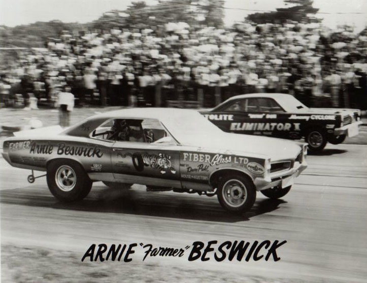 1966 GTO Funny Car racing against Dyno Don